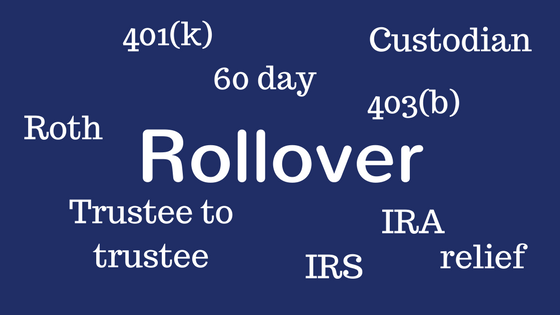 Rollover option rollover put